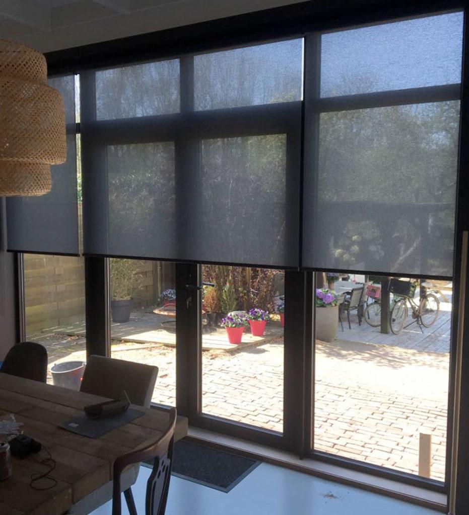 raamdecoratie rolgordijnen robert van der Stoep Montfoort